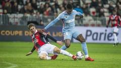 Монако победи Ница с 2:1 като гост в мач от турнира за Купата на Лигата във Франция