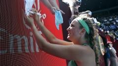 Азаренка - Кербер е първият четвъртфинал при жените