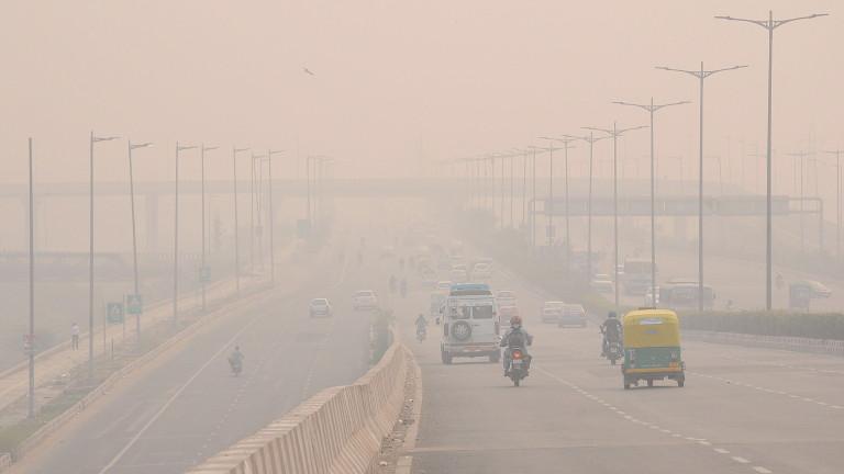 Мръсният въздух в Индия отнел живота на 1,24 млн. души през 2017 г.