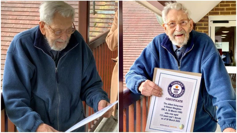 Британецът Робърт Уейтън е признат за най-възрастния жив мъж на