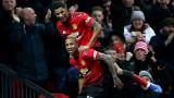Юнайтед възкръсна с разгром, Арсенал с трудна победа над Хъдърсфийлд (Резултати от Висшата лига)