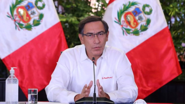 И в Перу наложиха рестрикции по пол заради коронавируса. Президентът