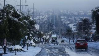 Сняг парализира Чили