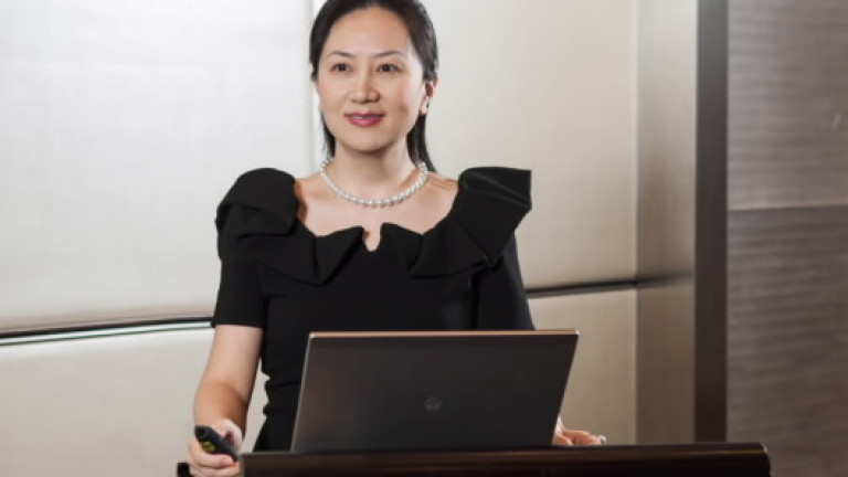 Главният финансов директор на Huawei Technologies Co. явно има увлечение