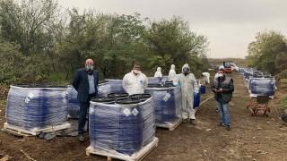 На косъм от екокатастрофа: откриха теч в склад със стари пестициди в Искър