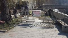 Ограждат опасна сграда до езерото във Велинград