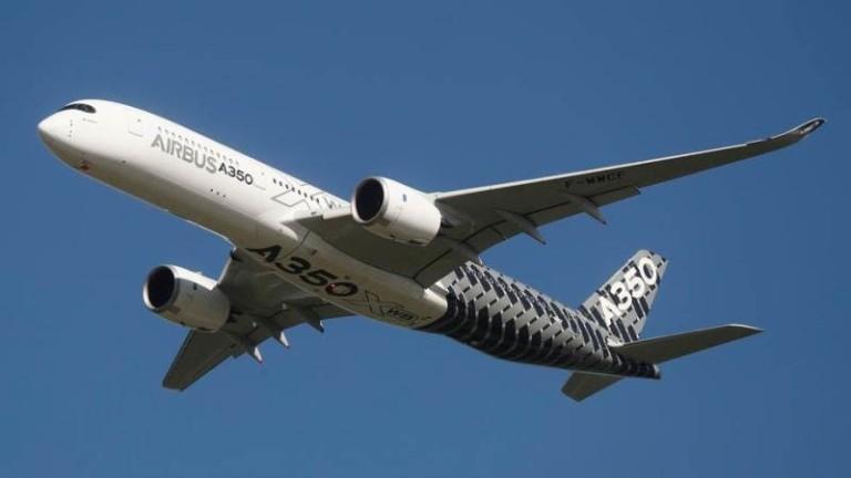 Airbus съобщи в понеделник, че спирането на производството ще бъде