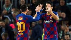 Всичките голове на Барса в Шампионска лига бяха отбелязани от футболисти с атакуващи функции