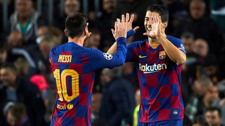 Луис Суарес стана трети голмайстор в историята на Барселона