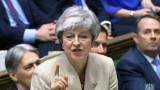 Британският парламент отложи Брекзит след 12 април