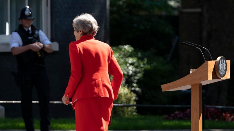Решението на Тереза Мей да подаде оставка е подкрепено от
