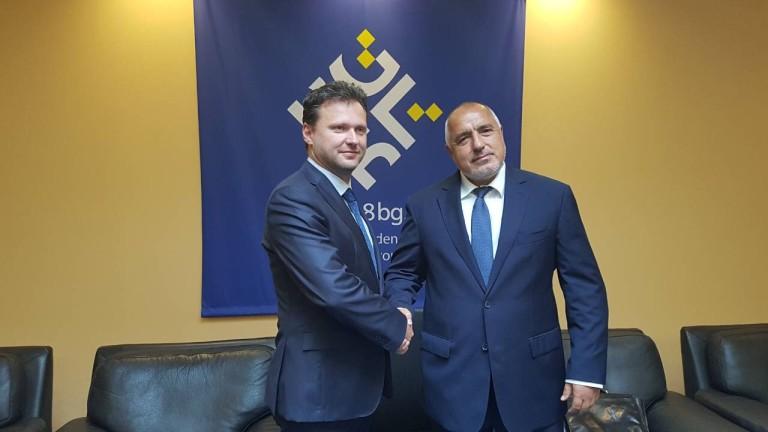 Премиерът Бойко Борисов обсъди с председателя на Камарата на депутатите