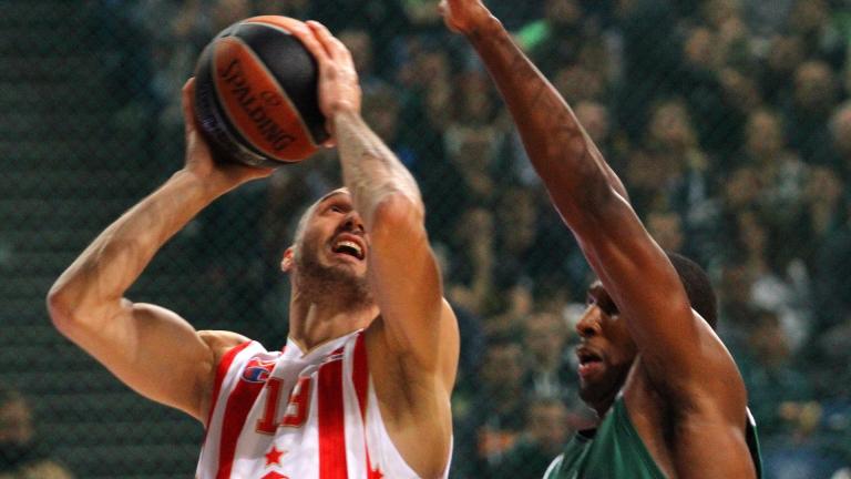 Седма поредна победа за Звезда в Евролигата
