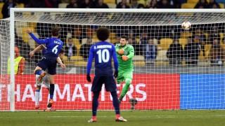 Динамо (Киев) - Лацио 0:2, гостите сякаш решиха всичко в мача!