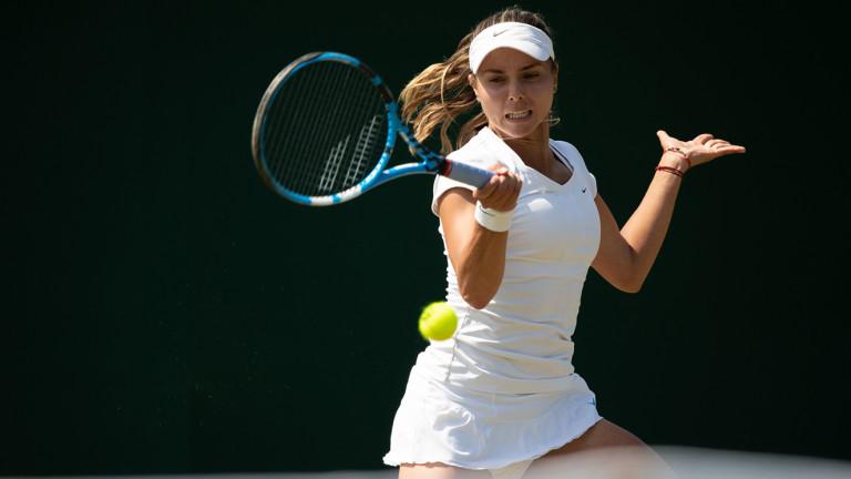 Виктория Томова приключи още на старта на US Open