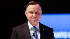 Президентът на Полша Дуда е с коронавирус