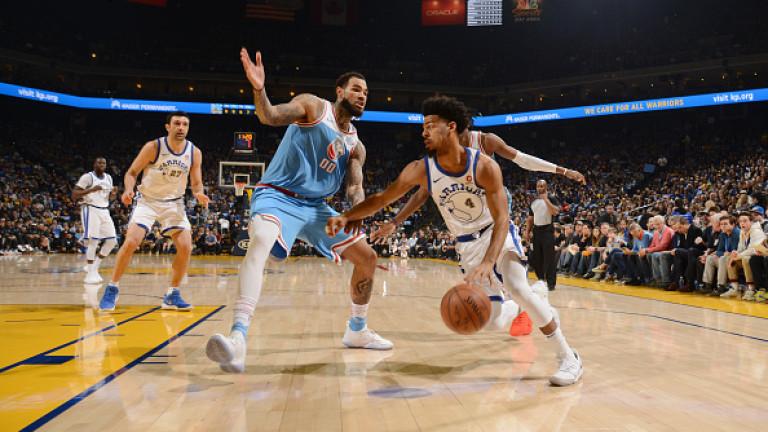 Сакраменто победи с 98:93 като гост шампиона в НБА Голдън