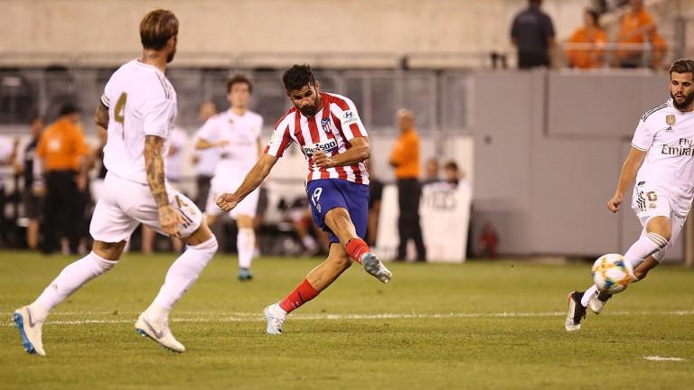 Атлетико разказа играта на Реал в САЩ