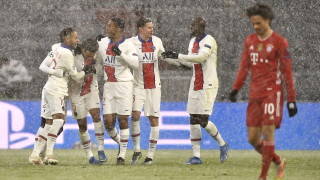 """Байерн и ПСЖ спряха дъха на футболна Европа, """"принцовете"""" с драматичен успех в Мюнхен"""