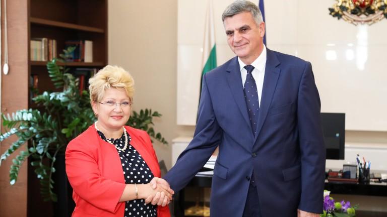 Премиерът Стефан Янев проведе среща с посланика на Румъния Бръндуша