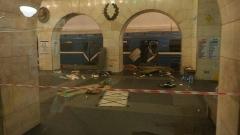 Двама души се издирват за атентата в Санкт Петербург