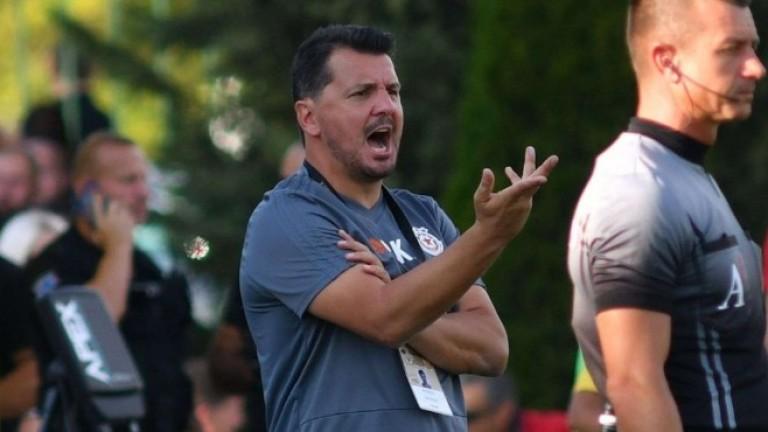Собственикът на ЦСКА Гриша Ганчев потвърди назначаването на Милош Крушчич