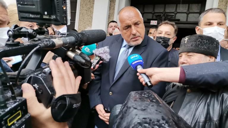 Бойко Борисов няма да е номинацията на ГЕРБ за премиер