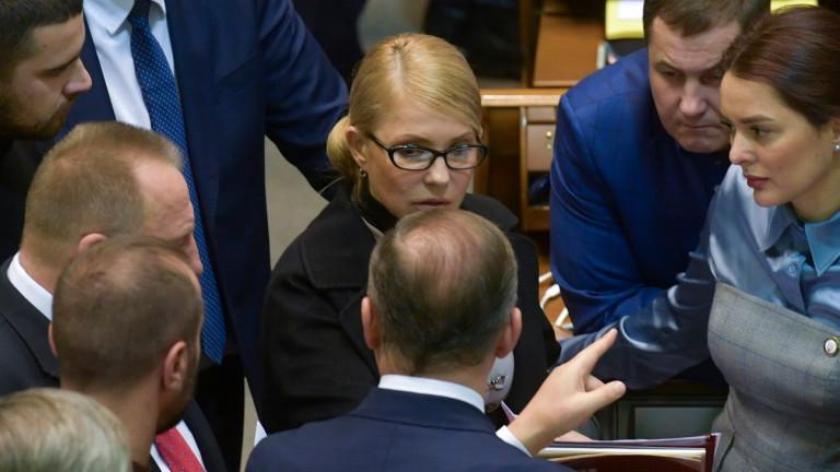 Тимошенко вижда Армагедон в местните избори в Украйна