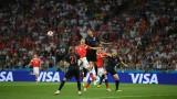 Шиме Върсалко под въпрос за мача с Англия