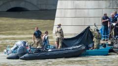 Извадиха потъналата туристическа лодка в Будапеща, намериха две тела