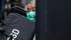 Хонконгският медиен магнат Джими Лай е осъден на 1 г. затвор