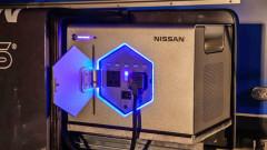 Какво прави Nissan със старите EV батерии
