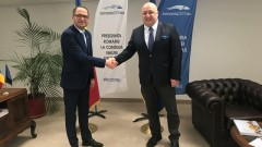 Министър Кралев се срещна с румънския си колега Константин Богдан Матей