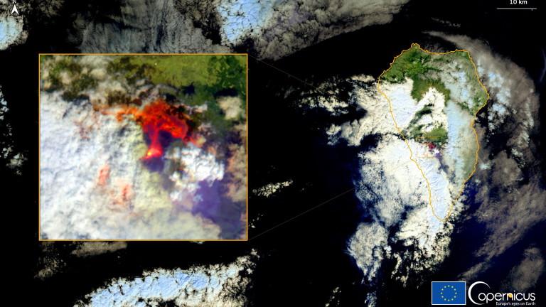 Изригването на вулкана на испанския остров Ла Палма и последствията