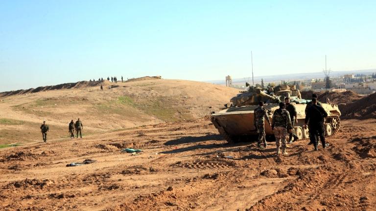 Снимка: Сирия - Война и мир по Путин