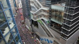Стотици хиляди протестират в Хонконг срещу репресивен закон в полза на Китай