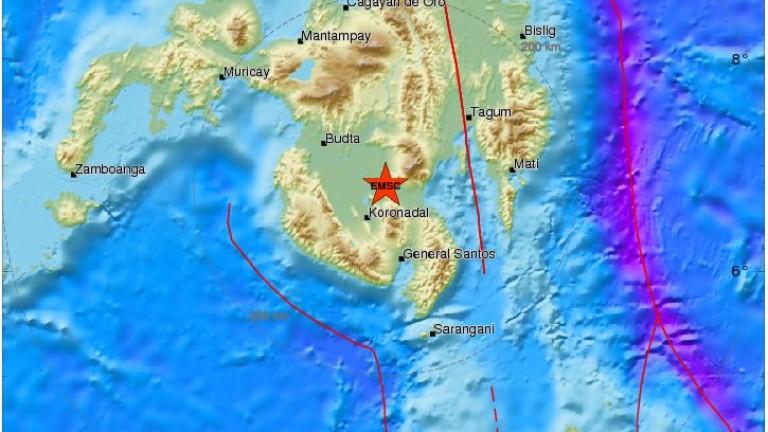 Земетресение с магнитуд 6,4 по скалата на Рихтер удари на