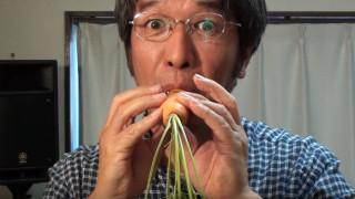 Японецът, който свири на плодове и зеленчуци