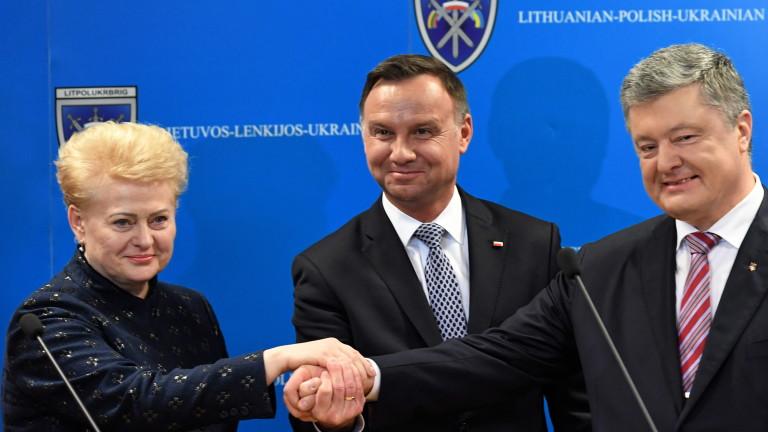 Полските власти очакват засилване на американския военен контингент в страната.