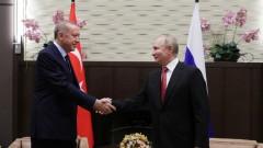 Ердоган в Москва: Путин приветства компромисите между Турция и Русия