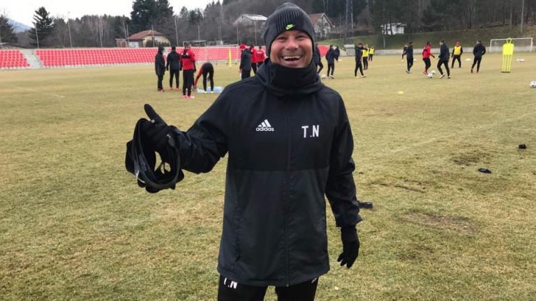 Кондиционният треньор на ЦСКА Томас Нойберт за пореден път бе