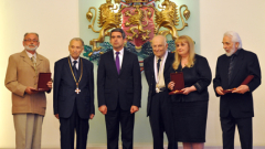 Плевнелиев връчи държавни ордени на хора на науката, културата и изкуството