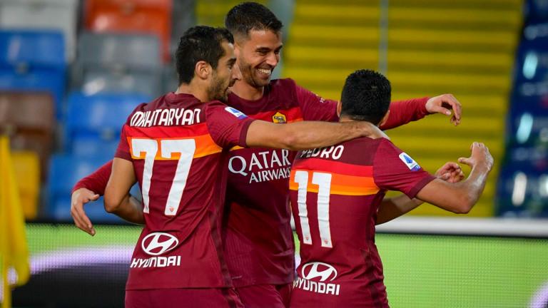 Рома обяви състава си за Лига Европа