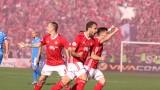 """Левски - ЦСКА 1:2, """"червените"""" обърнаха след два гола на Тиаго!"""