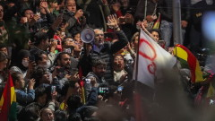 Протестите в Боливия заляха столицата, искат втори тур за президентските избори
