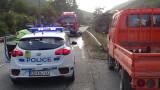 Мъж пострада при катастрофа на пътя Симитли-Банско