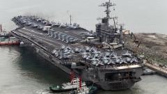 """Китайски разузнавателни кораби """"тестват"""" американски самолетоносач и Япония"""