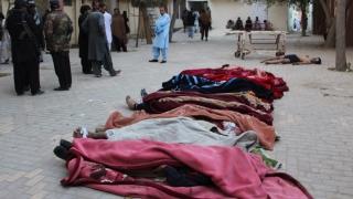 60 убити и 120 ранени при атака срещу полицейска школа в Пакистан