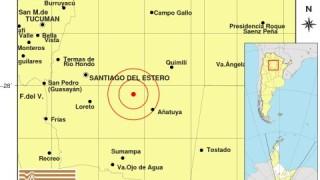 Силно земетресение в Аржентина