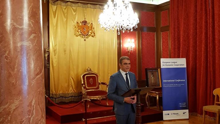 Главният изпълнителен директор на Първа инвестиционна банка Неделчо Неделчев взе